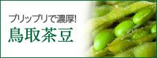 プリップリで濃厚! 鳥取茶豆